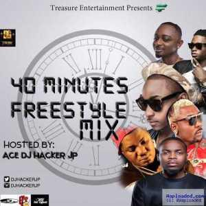 DJ Hacker Jp - 40 Minutes Freestyle Mix